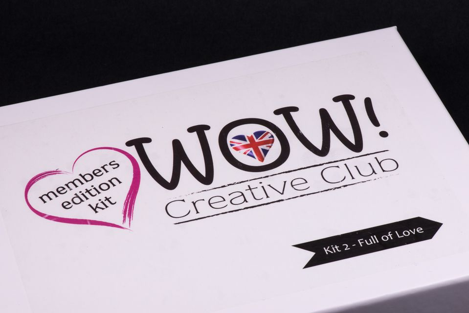 WOW!  Creative Club - Kit 2 (Launched February 2018) - Full of Love
